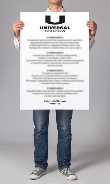 Universal manifesto
